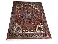 echter handgeknüpfter Perser Teppich Orientteppich Heriz Heris Mirsapur NP 3000