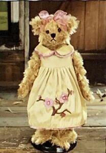 "SETTLER BEARS CHERRY BLOSSOM COLLECTION KENDRA 12"" PLUSH TEDDY BEAR - BNWT"