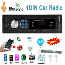 Single DIN Car Stereo MP3 Player Head Unit BT USB AUX FM Radio Audio Receiver