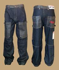 Jet Lag Jeans Hose W27/L32 dark blue blau work weit 013 Baumwolle Baggystyle NEU
