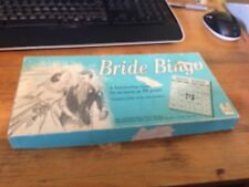 Bride Bingo board game Leister Game Co. Canadian Version