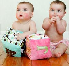 Custom Soft fabric Handmade Baby Block Cube