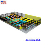 5,000 sqft Commercial Turnkey Trampoline Park Dodgeball Inflatable We Finance