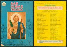 Philippine National Live Of Saints Illustrated Komiks SAN HUDAS TADEO Comics