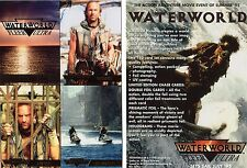 "Fleer Ultra Waterworld movie 4 Card sheet 5""x7"" Promo Card with Kevin Cosner"