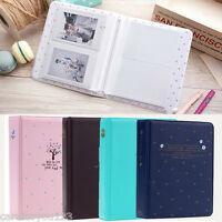 64 Pockets Album Photo Case Storage for Polaroid FujiFilm Instax Mini Film Size
