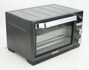 Calphalon TSCLTRDG1-BKR Quartz Heat Countertop Oven Dark Stainless Steel