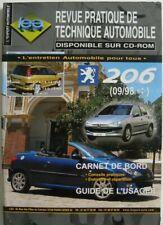 Revue technique automobile RTA Peugeot 206 Après 09 - 1998