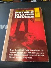 Vintage Paperback People In Glass Houses.By Jason Ridgeway