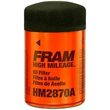 6 FRAM HM2870A HIGH MILEAGE ENGINE OIL FILTERS SPIN-ON FULL-FLOW SURE GRIP