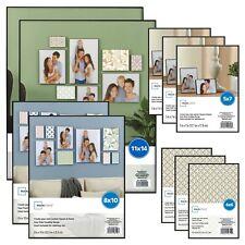 Photo Frame Set Of 10 Format Lot Wall Art Home Decor Black Picture Frames