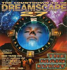 DREAMSCAPE 27 - THE COUNTDOWN TO 98 (DRUM N BASS CD'S) 31/12/97 NEW YEARS EVE