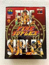 "Fire Suplex ""Good Condition"" Neo Geo AES SNK Japan"