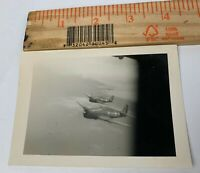 Original WWII Photo F6F Hellcat Navy Fighter Plane Aircraft Aerial Mission