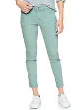 Gap Womens Green Balsam Mid Rise Jeggings Size 25 Skimmer 6614-3