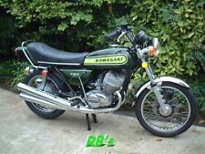 Kawasaki H2 750 Triple 1974 H2b Decal set - Green - The BEST!