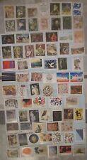 France Neuf** lot de 75 timbres série artistique tableaux