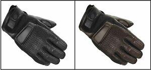 Spidi Garage Motorcycle Motorbike Goat Leather Short Racing Gloves