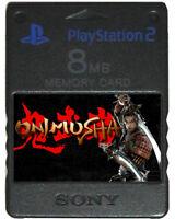 ONIMUSHA 1 2 3   MEMORY CARD SAVES   PS2 Dawn of Dreams Blade Warriors Cheats!