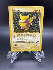 Pikachu - 1 Black Star Promo - Light Play/LP - Pokemon - WOTC