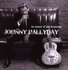 """Johnny HALLYDAY """"LE COEUR D 'ONU HOMME"""" CD NEUF"""
