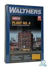 Walthers 933-3183 Plant No.4 Background Building Kit HO Scale Train