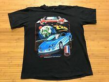 LARGE Vtg 90s Camaro Z28 Chevrolet Hearthbeat America Single Stitch T-Shirt USA