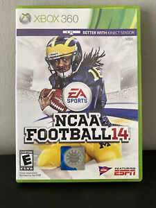 NCAA Football 14 (Xbox 360, 2013) Tested With Inserts