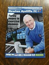 NEWTON AYCLIFFE v BEDLINGTON TERRIERS - Northern Lge 2011/12
