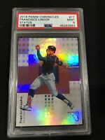 2018 Panini Chronicles Status #17 Francisco Lindor PSA 9 (Pop 1/only 1 higher)