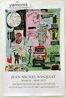 "RARE Jean-Michel Basquiat Brant Foundation 2019 Exhibit Poster ""IN ITALIAN"" NEW"