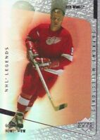2000-01 Upper Deck Legends Supreme Milestones Hockey Cards Pick From List