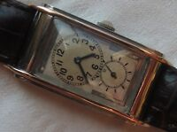 Rolex Prince mens wristwatch steel & gold case load manual 20,5 mm. aside