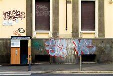 7x5ft Vinyl Photo Background Street HD Studio Graffiti Photography Backdrop