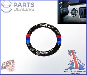 ENGINE START STOP BUTTON RING FOR BMW 3 SERIES E90 E91 E92 E93 Z4 CARBON M SPORT