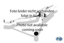 FOX Duplex Sportauspuff Anlage ab Kat. Dodge Challenger 3.5l 186kW je 2x90mm