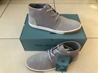 TOMS Shoes Suede Grey Boots 6/6.5/7/8/9/10/11/12/13 | 100% GENUINE Free Delivery