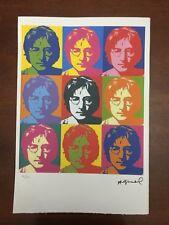 Andy Warhol Litografia 57 x 38 Arches Timbro Secco Israel Castelli AN378