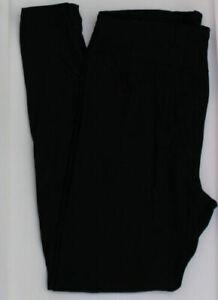 LuLaRoe TC Leggings Tall and Curvy SOLID BLACK noir NEW Rare solid black tc
