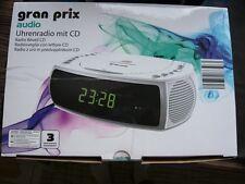 Stereo UKW Uhrenradio mit  / CD  Player Netzbetrieb mit USB Ladestation