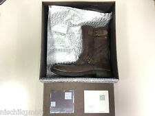 MOMA Stiefel Halbstiefel Half Boot Boots Damen Woman braun Gr. 39,5 Leder 87103
