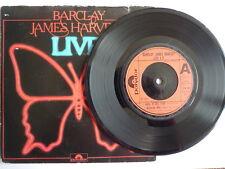 BARCLAY JAMES HARVEST Live EP Rock N Roll / Medicine Man / Pt 2 VINYL LOOKS MINT