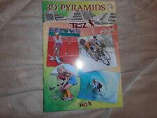 3d Buch, Sports, Pyramids, TBZ, A5, zum Ausschneiden Neu,3 d, #74
