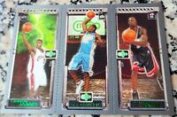 LEBRON JAMES 2003-04 Topps Matrix Triple Rookie Card RC Cavaliers Wade Melo MVP