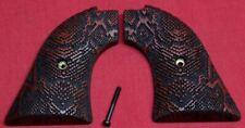 Heritage Arms Rough Rider Wood Grips .22 lr / .22 mag Snake Skin