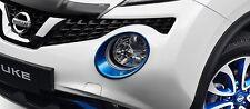 Nissan Juke Color Studio Electric Blue Headlight Trim Rings OEM 2015-2017