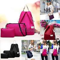 3 set Fashion Women Girl Travel Satchel Shoulder Bag Backpack School Rucksack