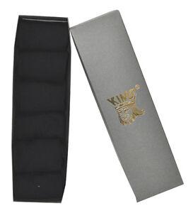 Bulk 6 Pairs Black Business Socks Box Pack