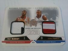 McGrady Francis 2004-05 Skybox Fresh Ink Game Breakers Dual Patch /10