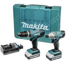 Makita G-Series Combi Trapano e IMPACT DRIVER Twinpack grilletto a pressione da 18 V